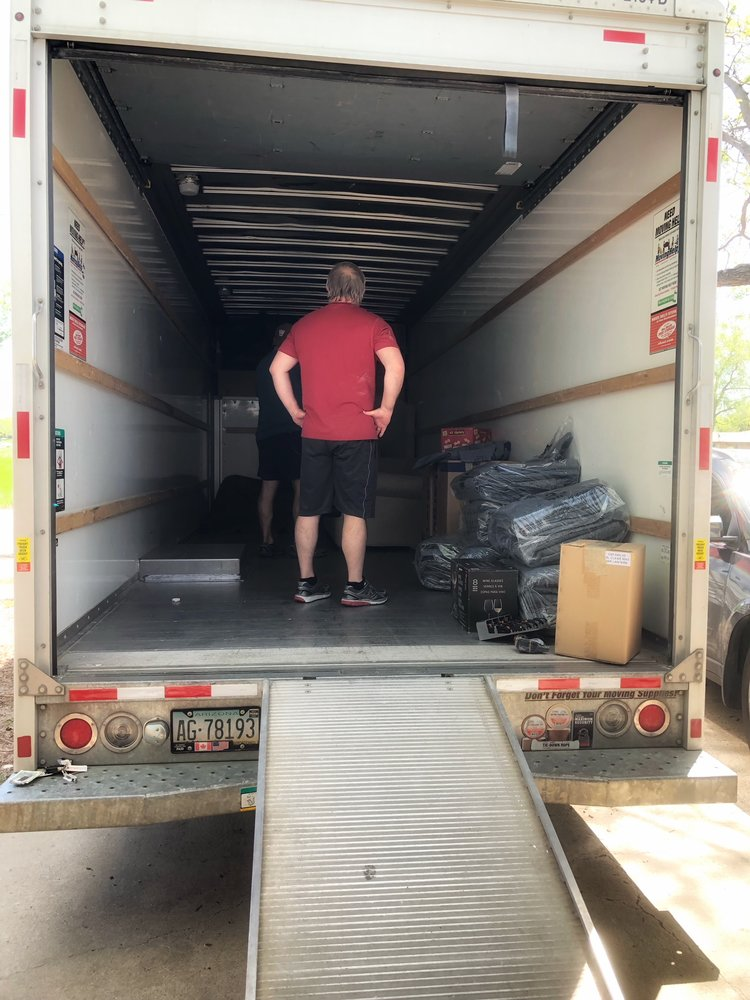Only pack what you will keep in the moving truck