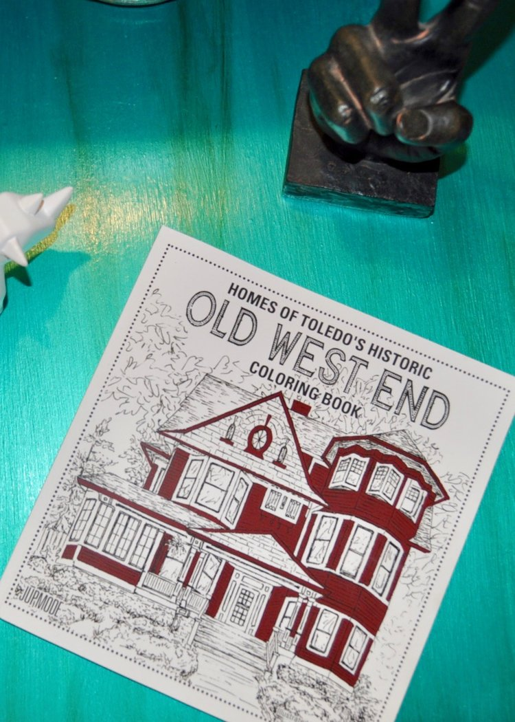Old West End Coloring book by Jupmode