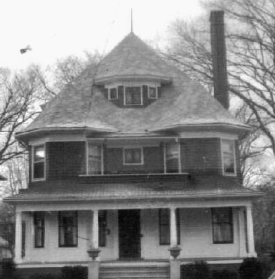 Early 1900's photo of their home