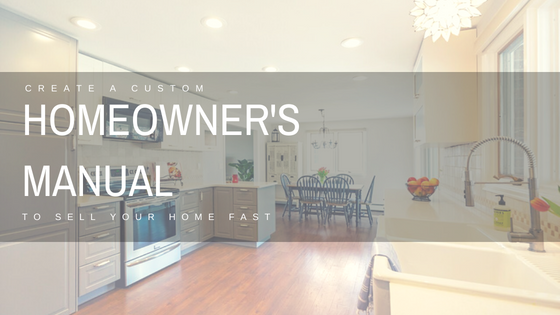 Homeowners manual created for open houses