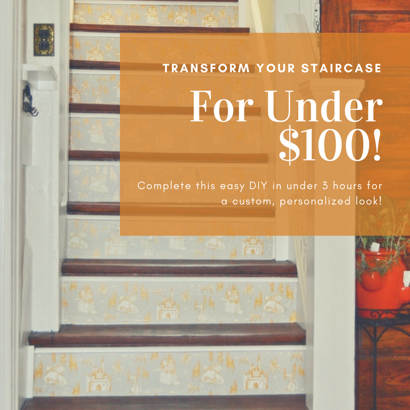 Transform your staircase for under $100 | Building Bluebird