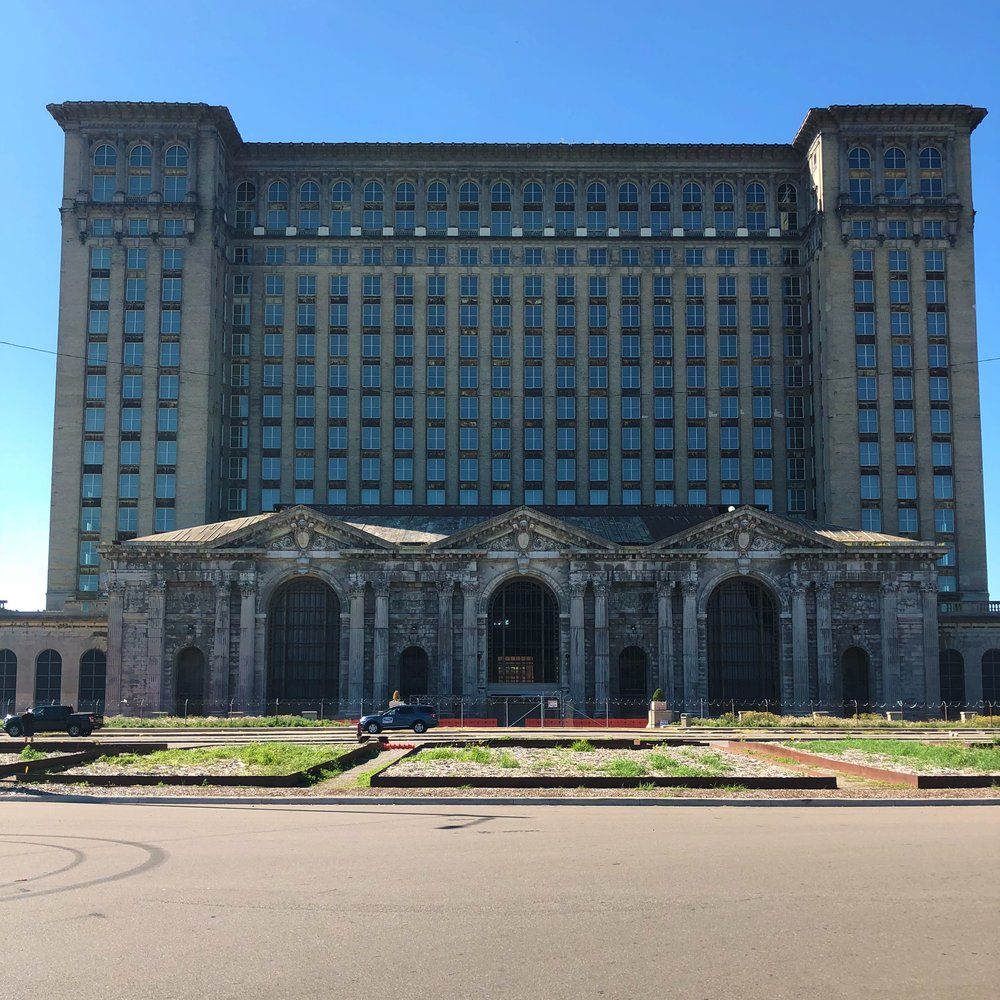 Old Detroit train station