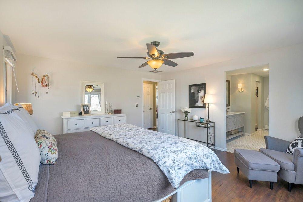 Master bedroom complete renovation