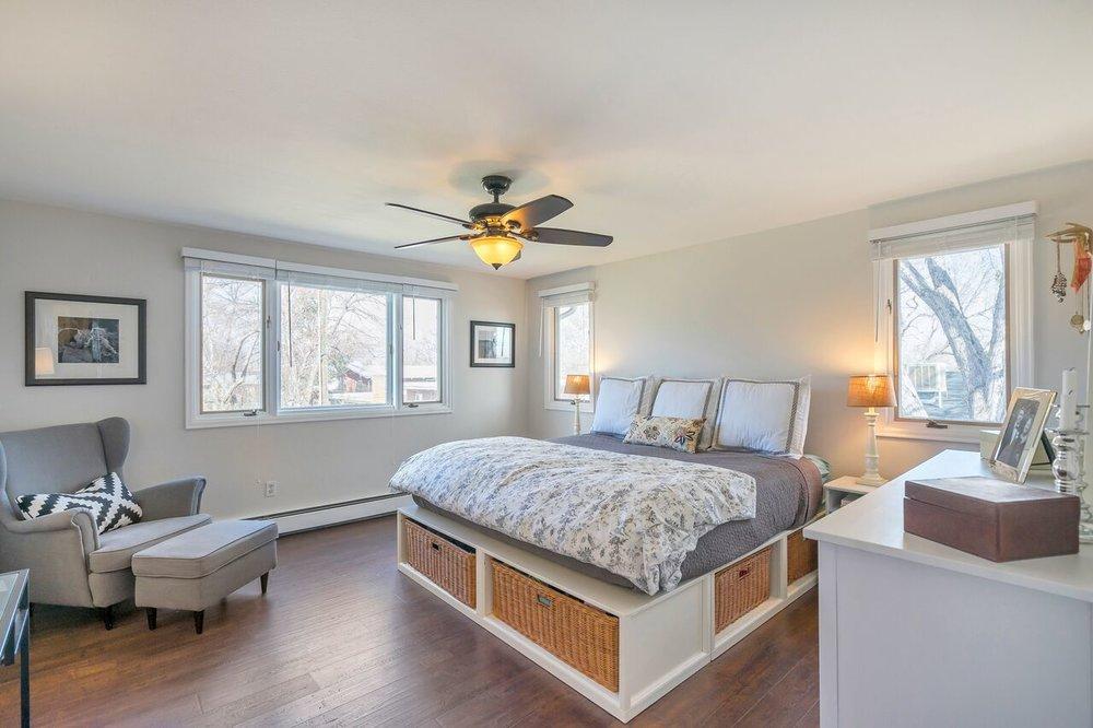 Master bedroom reveal   Building Bluebird