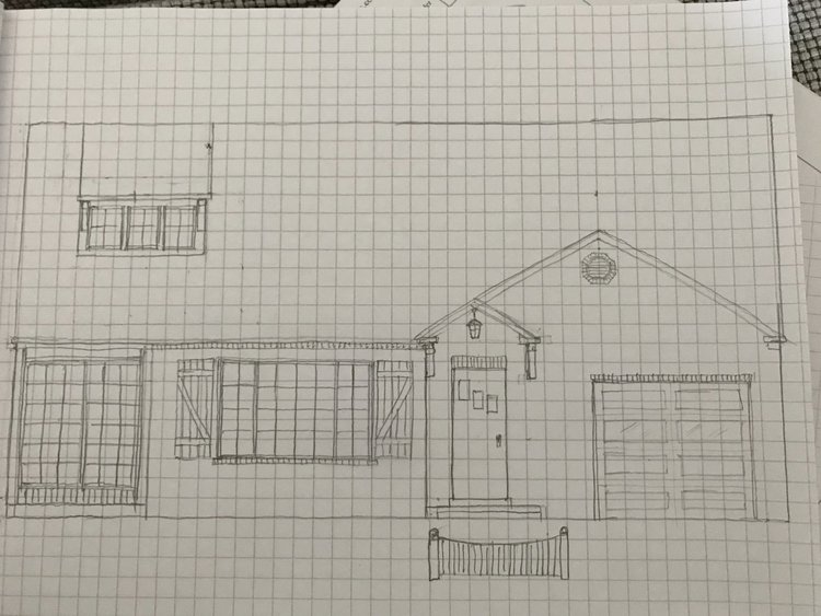 Exterior plans for flip 4