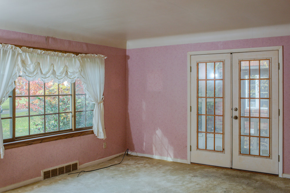 Before of the front room