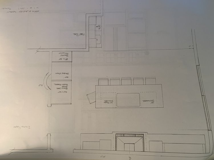 Kitchen desigin for our new family home