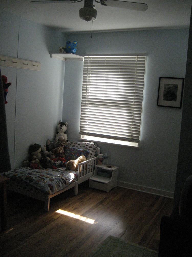 Before image of the nursery at Flip 1