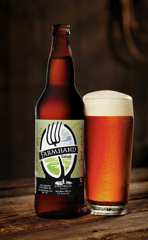 Driftwood Brewery Farmhand Saison beer