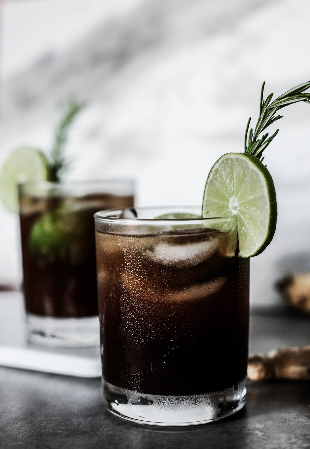 Winter Spiced Ginger Beer Cocktail