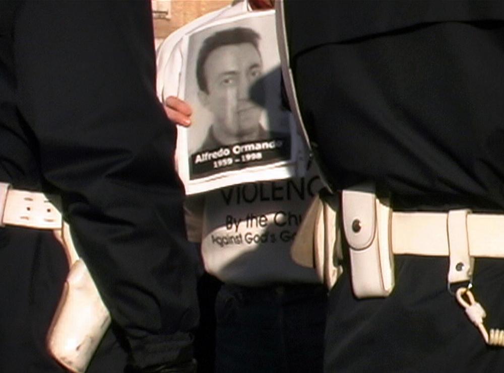 Protesta a Piazza San Pietro