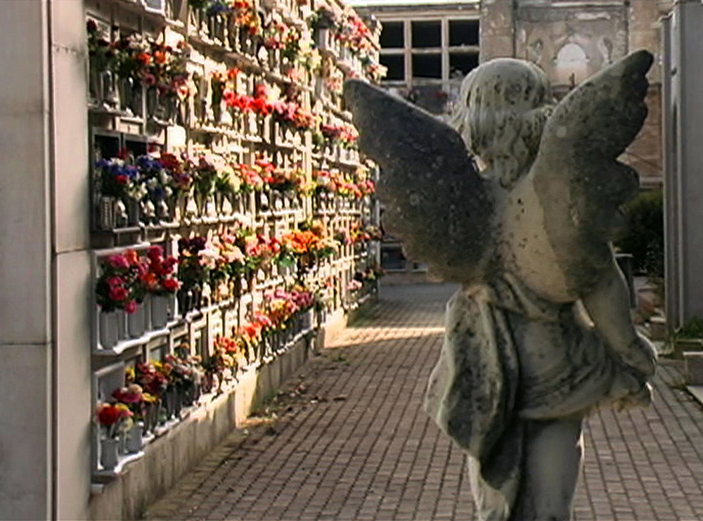 Il cimitero dove è sepolto Alfredo