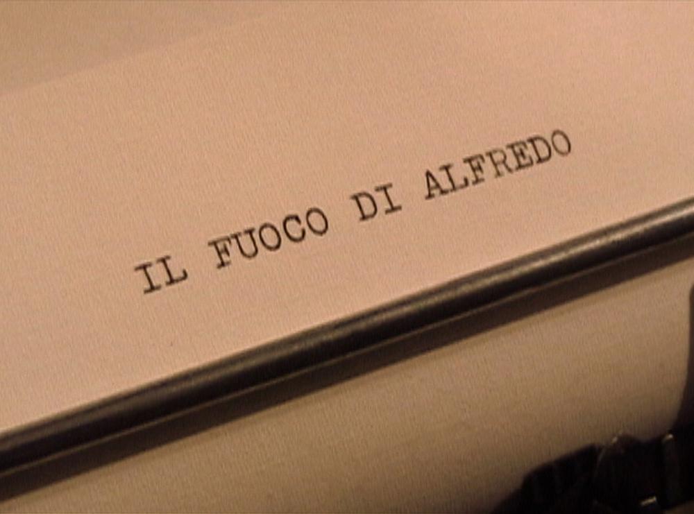 Il Fuoco di Alfredo, titolo