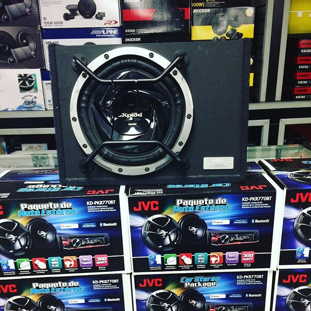 We have the #stereos #speakers and more! Come by today.