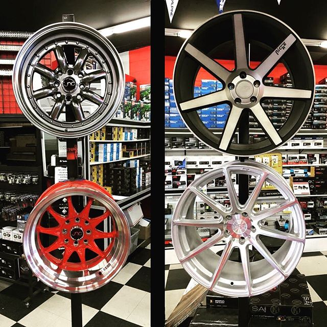 Stereo Depot has #amazing #rims for any kind of #car