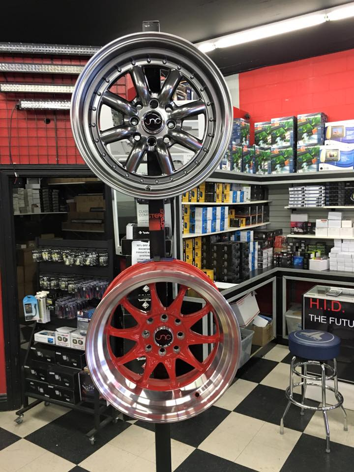 Stereo Depot San Diego has amazing wheels