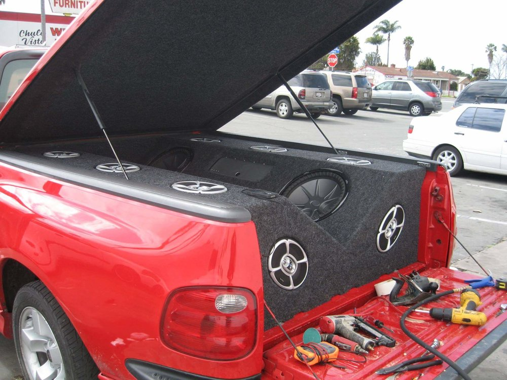 Custom Car Stereo System Installation