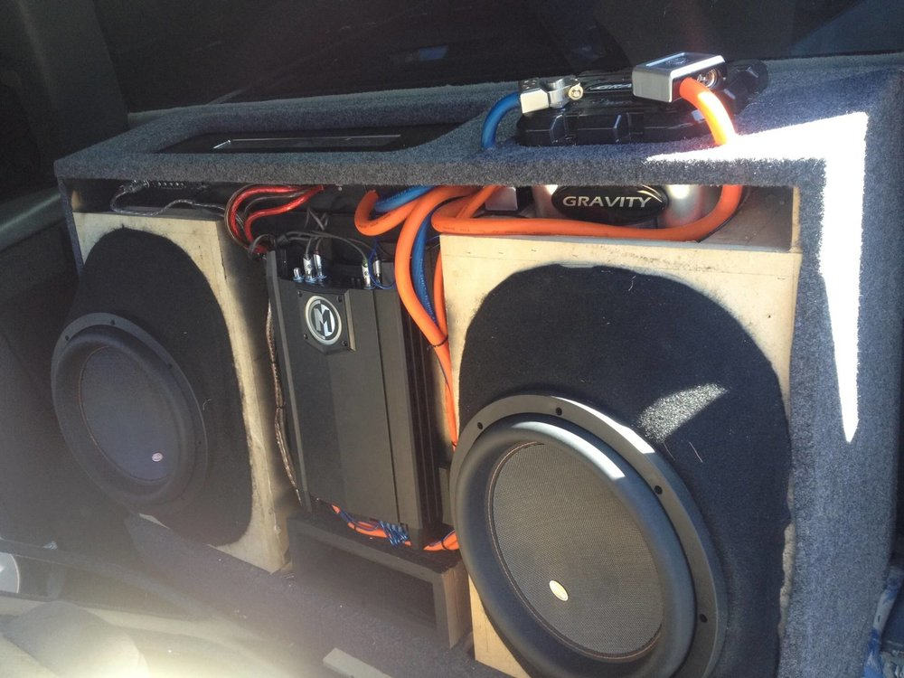 Install a Car Subwoofer and Speaker System
