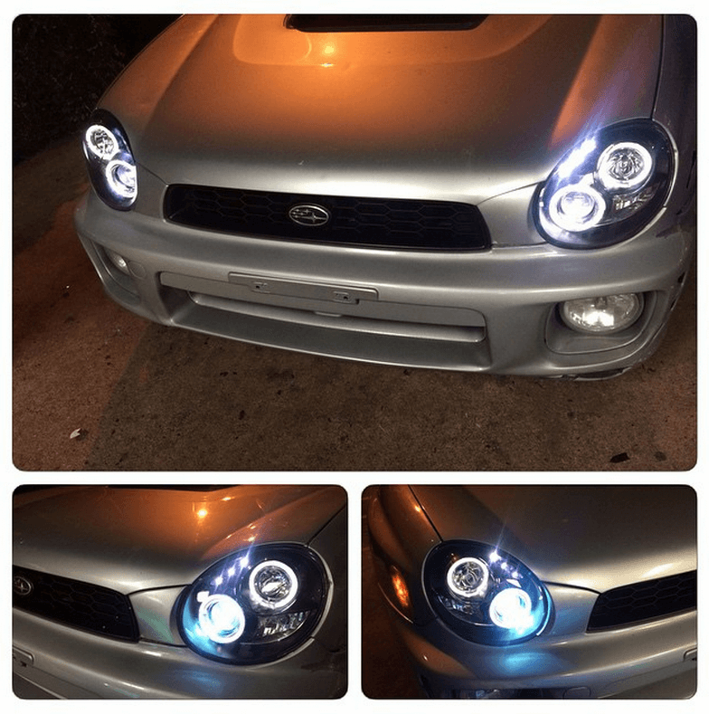 Car Headlight Installation at Stereo Depot San Diego