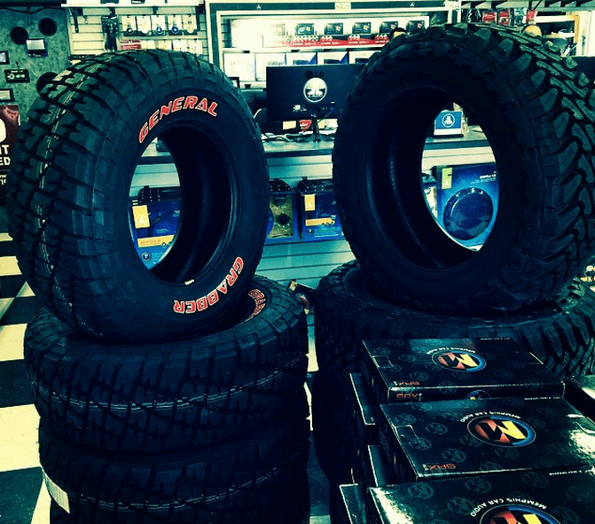 Best Car Tires in San Diego & El Cajon at Stereo Depot
