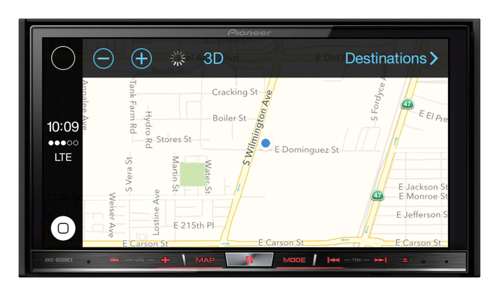 Stereo Depot offers expert Apple Carplay installation. We are a certified Apple Carplay distributer and specializes in installation Apple Carplay in cars. Get directions with a great interface using GPS navigation with Apple Maps.