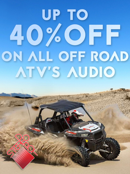 Stereo Depot in San Diego and El Cajon offers great deals on offroad audio, ATV stereo systems and offroading. Come to Stereo Depot in San Diego and El Cajon.