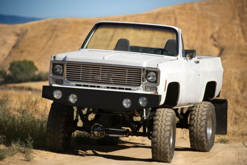 Desert season offroading in your lifted truck