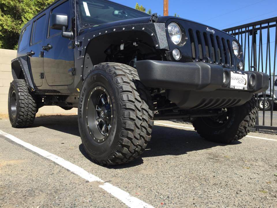 Get your car or truck suspension lift kit