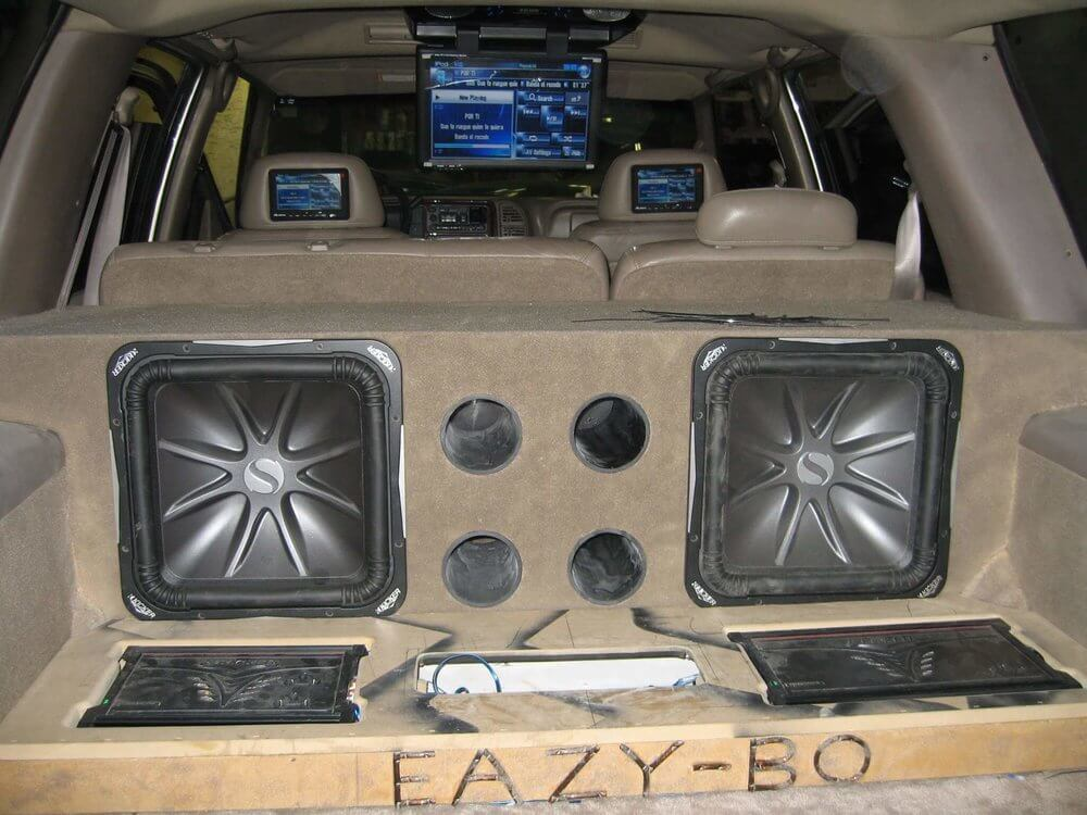 Stereo Depot car audio and stereo system installation.