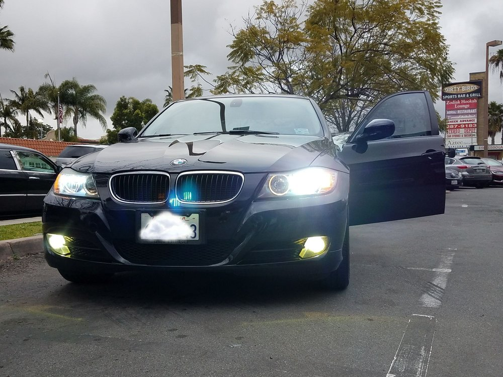 HID lights and Headlight installation.