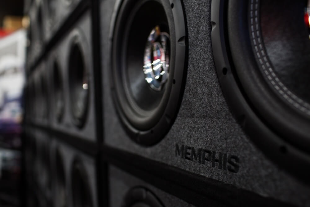 Memphis speakers and car stereo speaker installation