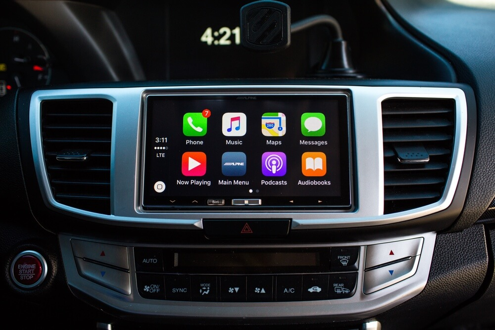 Stereo Depot Apple CarPlay Installation.