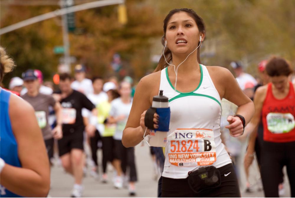 New York City Marathon Portrait