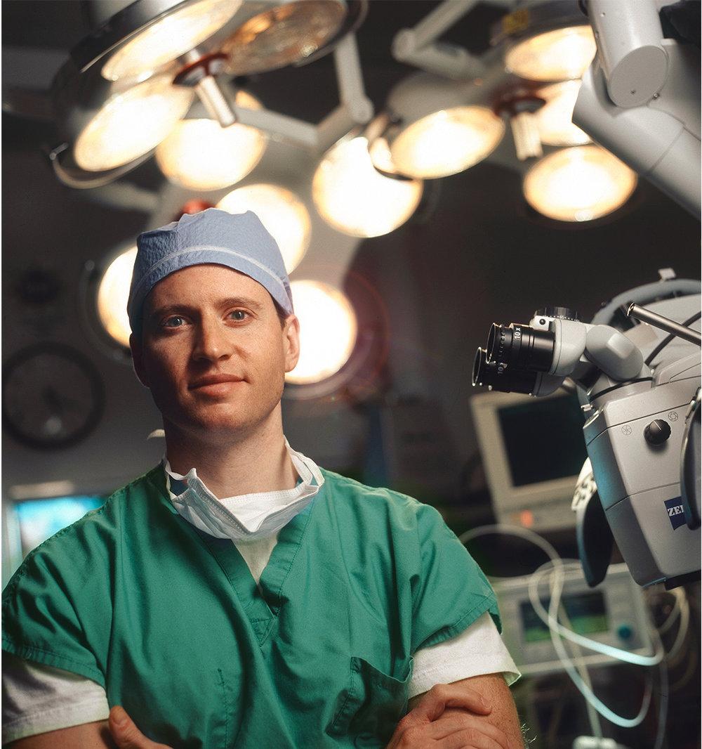 Brain Surgeon-Portrait