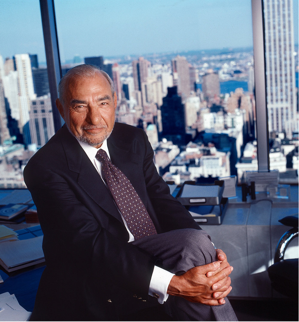 Melvin Weiss-Executive Portrait