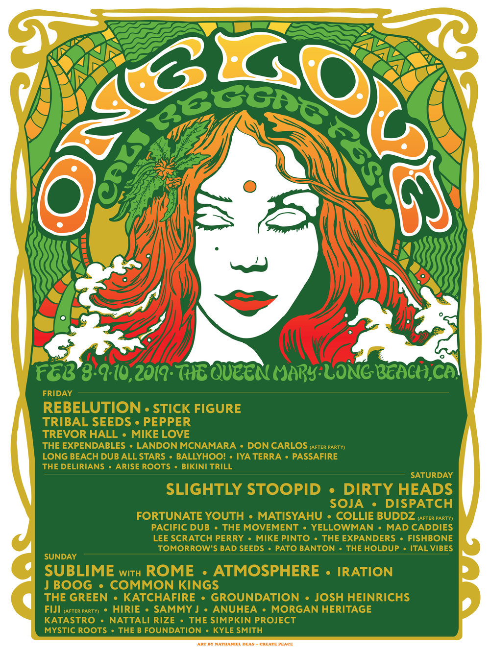 Catch Us At… - One Love, in Long Beach California!