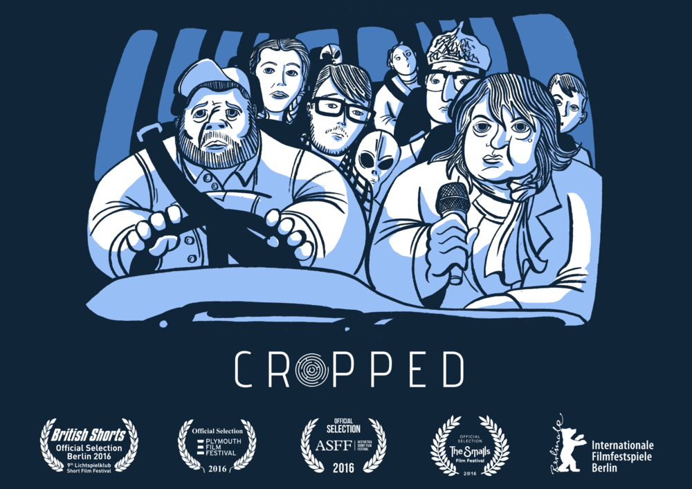 CROPPED (2016) - SYNOPSIS:Cropped tells the story of a group of UFO enthusiasts on the hunt for proof of extraterrestrial existence at the site of one of rural Britain's mysterious crop circles. As events unfold and night falls, the group are forced to set their differences aside when the mystery of the crop circles is revealed.STARRING:Annie Walker, Jethro Aukin, Donovan Christian Cary, George Oliver, Charlie Beazley, Ingvild Delia & clifford Hume.Director: Chris ThomasWritten by Allan MacleodProducer: Daisy MostynProduction Company: SmugglerFILM FESTIVALS:WINNER 'BEST FILM' : The Smalls Film FestivalNOMINATION FOR THE AUDIENCE AWARD : Berlin British ShortsNOMINATION FOR THE ROGER DEAKINS AWARD : Plymouth Film FestivalOFFICIAL SELECTION : Aesthica Film Festival 2016OFFICIAL SELECTION : London Sci-fi International Film Festival 2016OFFICIAL SELECTION : Berlinale Film Festival 2016OFFICIAL SELECTION : London Shorts Film Festival 2016OFFICIAL SELECTION : Cluj Film Festival 2016STAFF PICK: Vimeo 2016