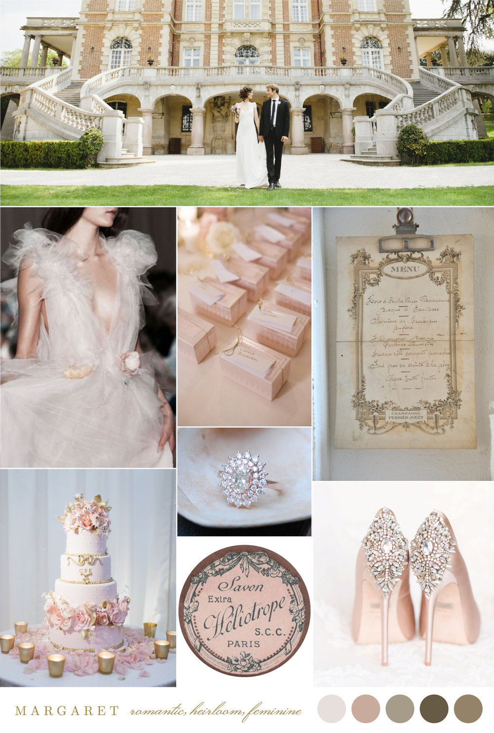 Margaret Style Board Best Luxury Wedding Stationery