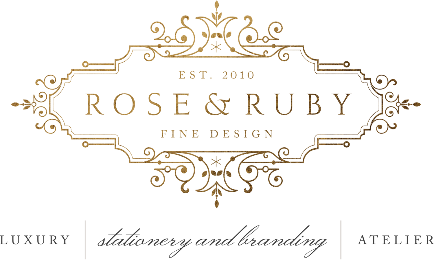 Rose & Ruby Fine Design Wedding Invitations Stationery & Branding Atelier