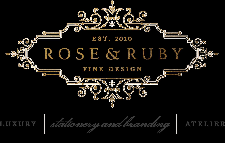 Fine Stationery Wedding Invitations: Rose & Ruby Fine Design Wedding Invitations Stationery