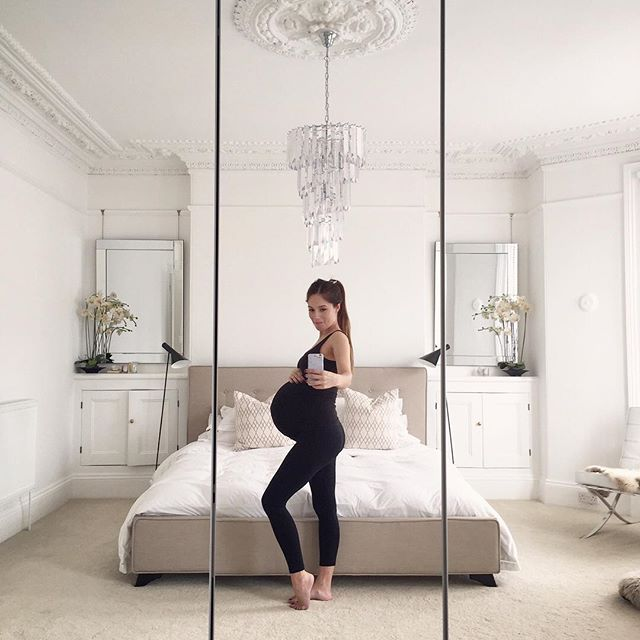 #tbt to my due date! . . It was definitely hard, especially toward the end and I did complain (omg the itchy tummy skin!!!) but I kind of miss being pregnant in all it's magic! Those little wriggles and daily hiccups. It's amazing how much you can know a little person before they're even born! x