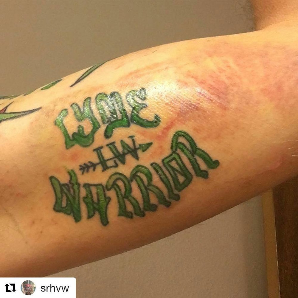 Lyme Disease tattoo