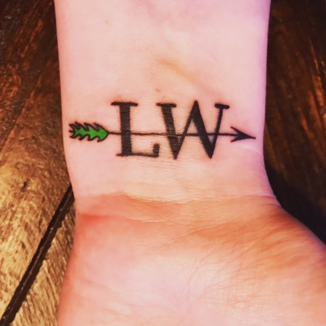 Lyme Warrior tattoo