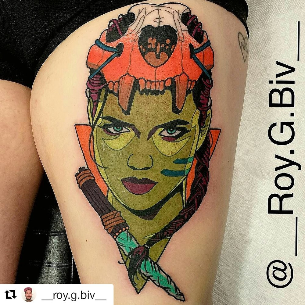 Lyme Warrior tattoo