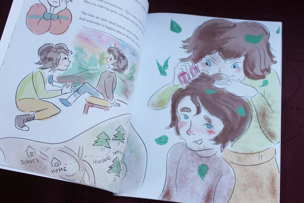 Kid's book about Lyme Disease