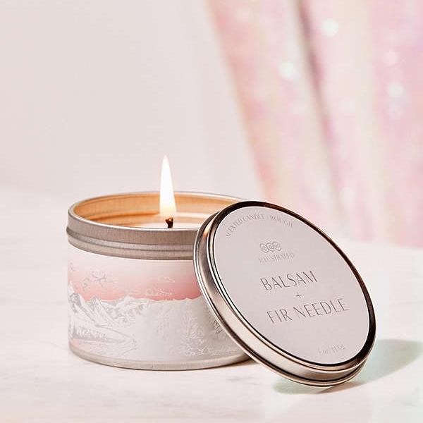 UO Candle  - This holiday tin can candle is so cute and perfect for the artist type!
