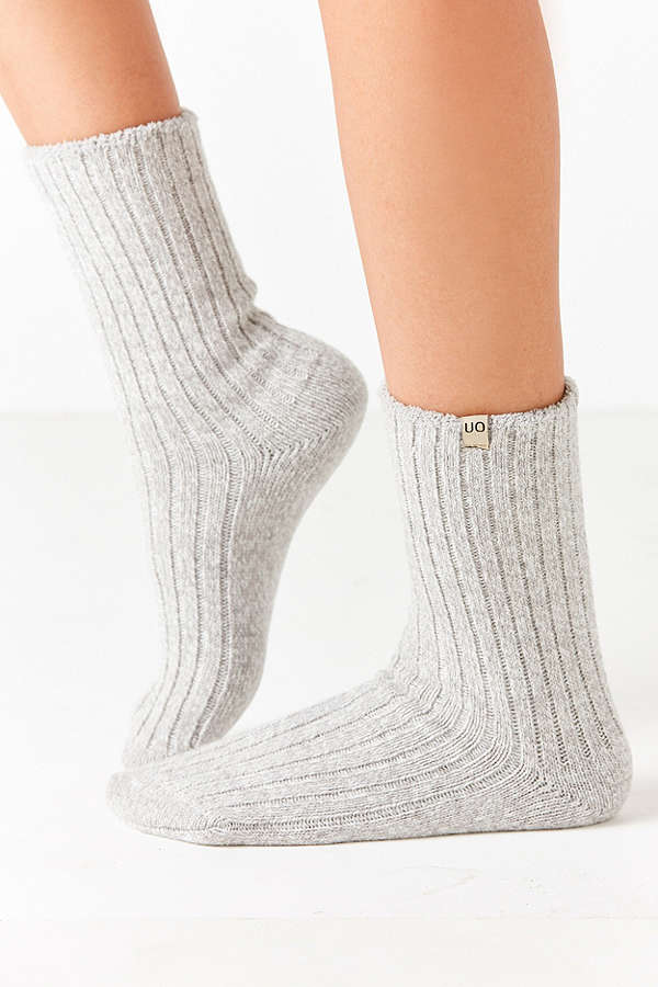 UO Cozy Crew Sock - These cute cozy socks come in several different colors!