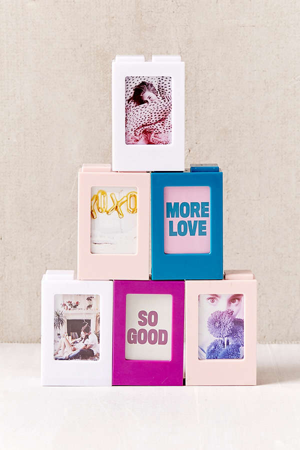 Stackable Insta Mini Frame - These mini frames are a perfect to display your photos and throw in your favorite quotes!
