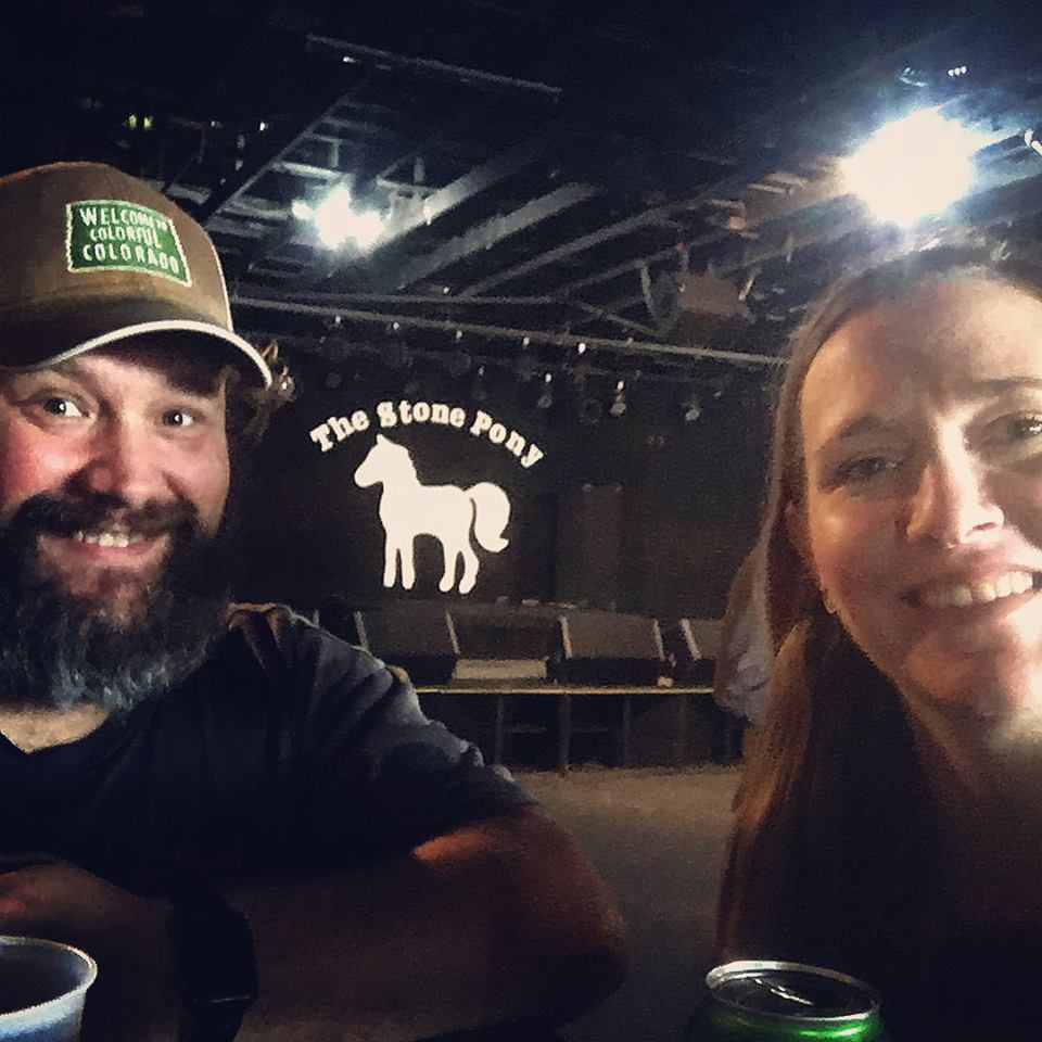 Me & Stephanie at the Stone Pony before the Souls and Lucero played!!