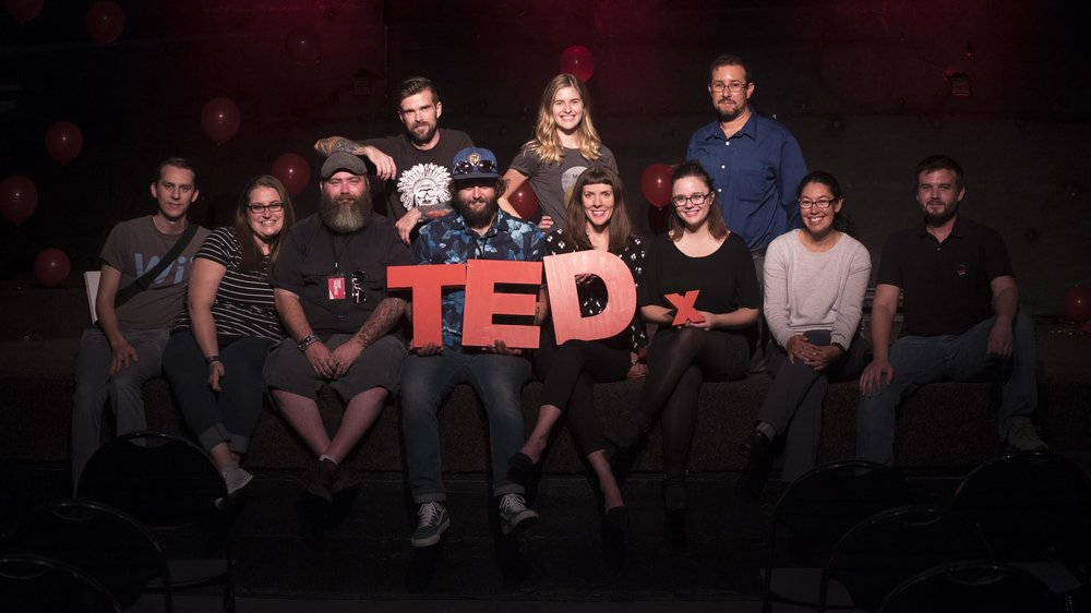 Part of the amazing TEDxRichland 2016 team. It took many people (some not pictured here) with giving minds to pull off the success of the first ever TEDx in the Tri Cities. With such a great turnout, we are pleased to bring more TEDx in 2017.
